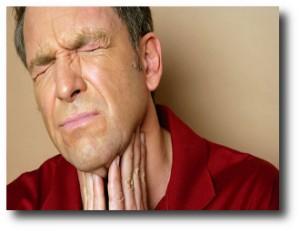 6. Dolor de garganta