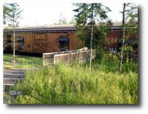 7. Northern Rail Train Car Hotel