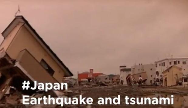 HashTag de tsunami en Japón