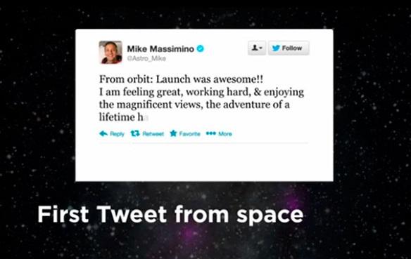 Tuit desde la luna