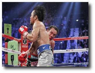 1. Manny Pacquiao vs Juan Manuel Marquez
