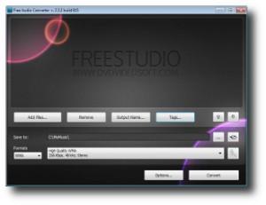 4. DVDVideoSoft Audio Converter