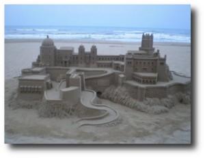 7. Castillos en la arena
