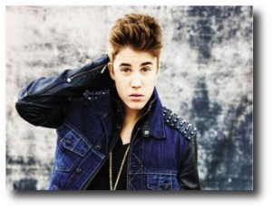 1. Justin Bieber