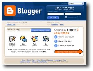 10. Blogger