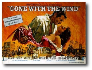 10. Gone with the Wind