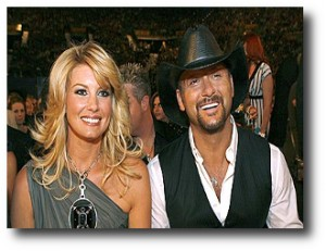 10. Tim McGraw y Faith Hill