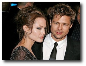4. Angelina Jolie y Brad Pitt