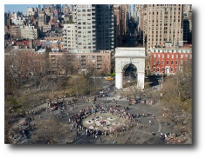 4. Washington Square Arch