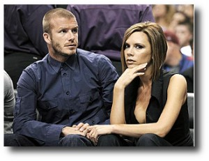 5. David y Victoria Beckham