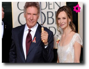 6. Harrison Ford y Calista Flockhart