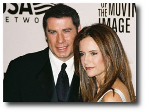 8. John Travolta y Kelly Preston