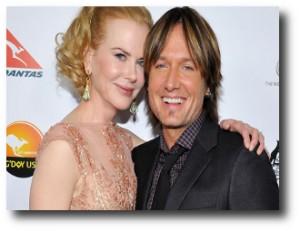 9. Nicole Kidman y Keith Urban