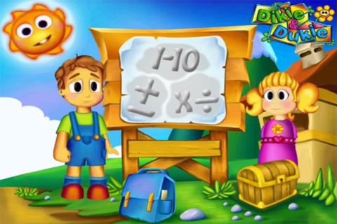 DiKie & Duckie Aprende matemáticas