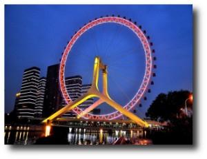 1. Tianjin Eye