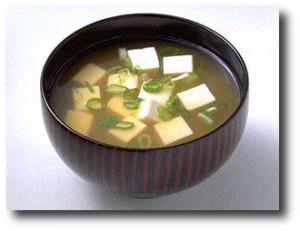 2. Sopa de miso