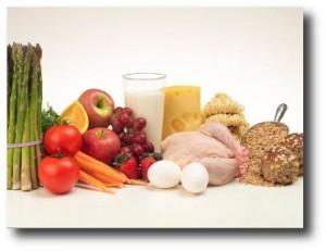 4. Despensa con alimentos sanos