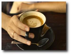5. Dejar el cafe