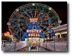 5. Wonder Wheel