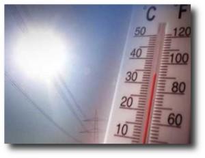 8. Calor extremo