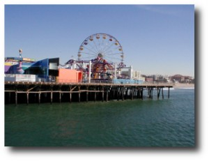 8. Noria de Santa Monica Pier