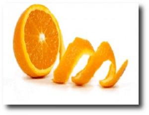 9. Cascara de naranja