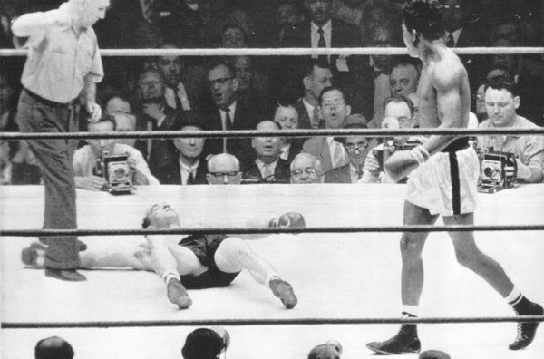 Sugar Ray Robinson vs.Gene Fullmer