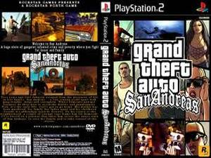 1. Grand Theft Auto- San Andreas