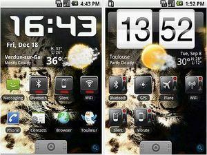 4. Widgets en la pantalla principal