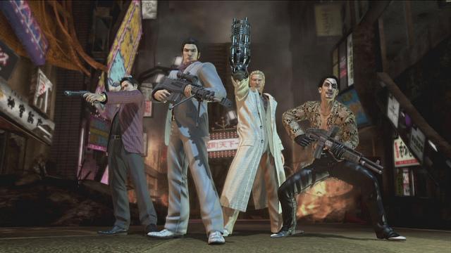 Yakuza Dead Souls