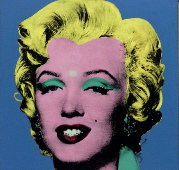 Blue Shot Marilyn