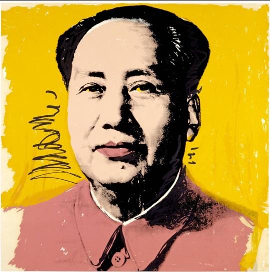 Retrato de Mao Tse Tung