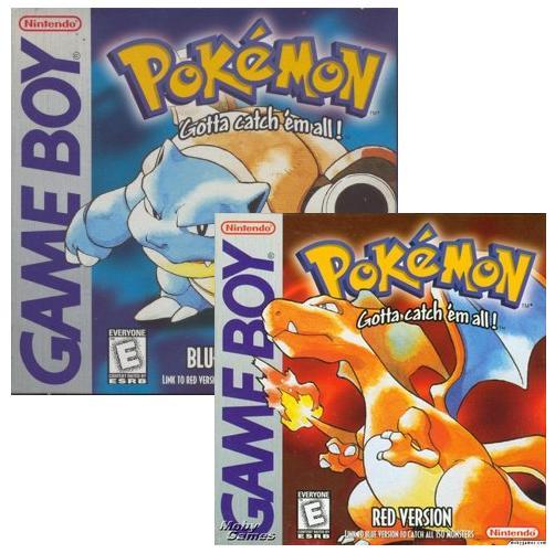 Pokémon Red y Blue