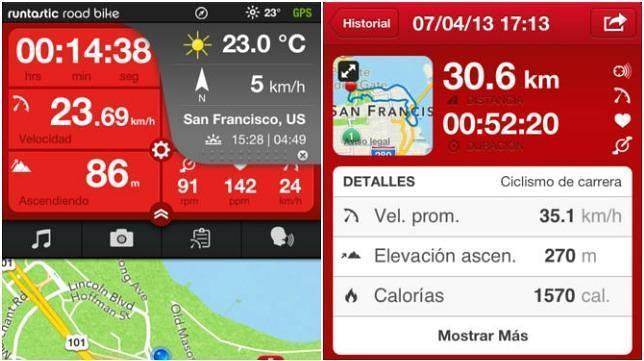 Las 10 mejores aplicaciones para ciclistas
