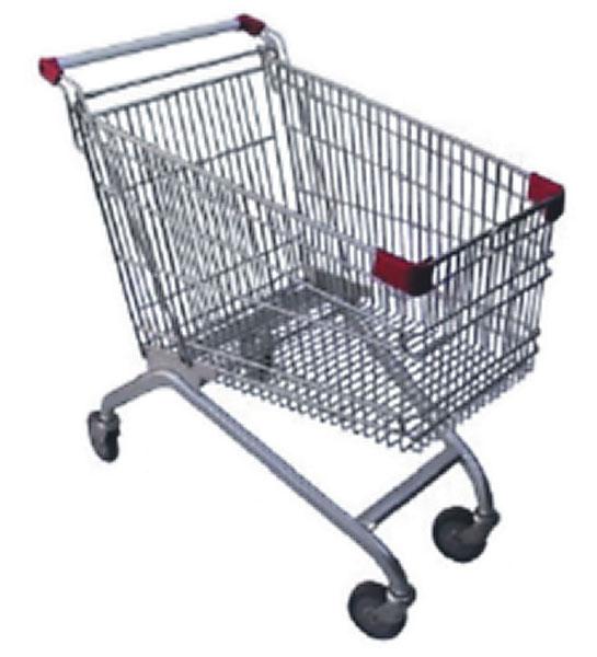 Manubrio de carro de supermercado