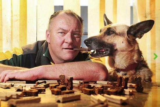 Probador de comidas para perro