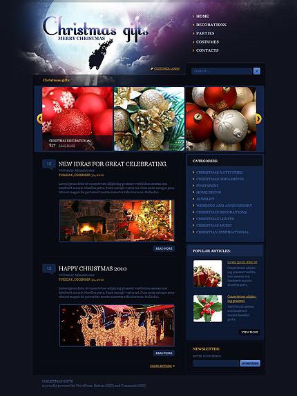 Los 10 mejores temas WordPress de navidad