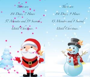 10. Christmas Countdown