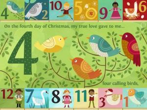 2. 12 Days of Christmas