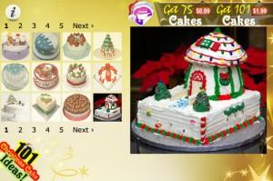 3. 101 Christmas Cake Ideas