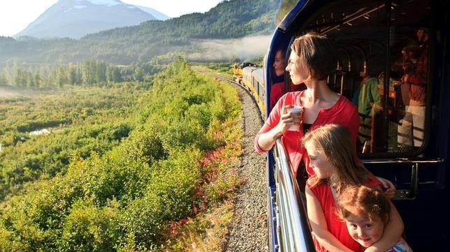 Alaska en tren