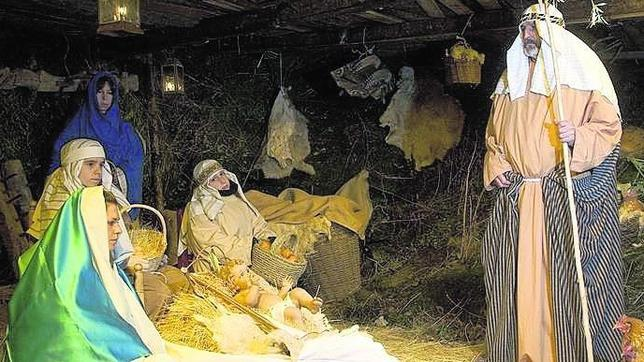 Belén viviente de Buitrago del Lozoya