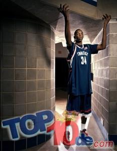 Los 10 jugadores más altos de la NBA
