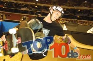 Los 10 mejores Skateboarders del mundo