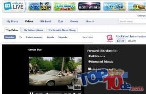 Además de ser una red social para compartir experiencias e interactuar con los amigos, Facebook también permite la creación de aplicaciones que pueden ser juegos o de otra temática, para el entretenimiento de sus usuarios