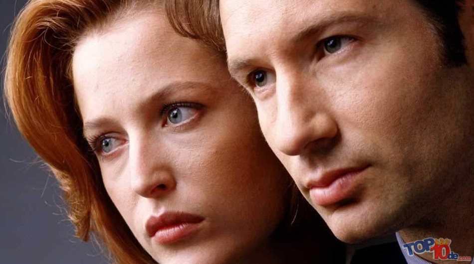 Dana Scully y Fox Mulder
