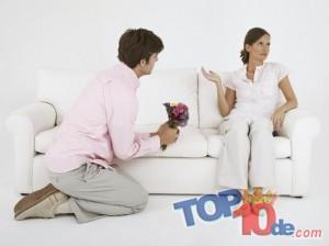 Las 10 formas de mantener feliz a tu novio