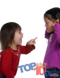 Los 10 malos hábitos que tienen los niños