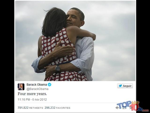 El abrazo de los Obama