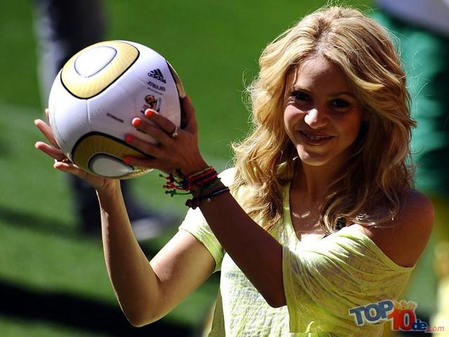 Las 10 novias más hermosas del fútbol